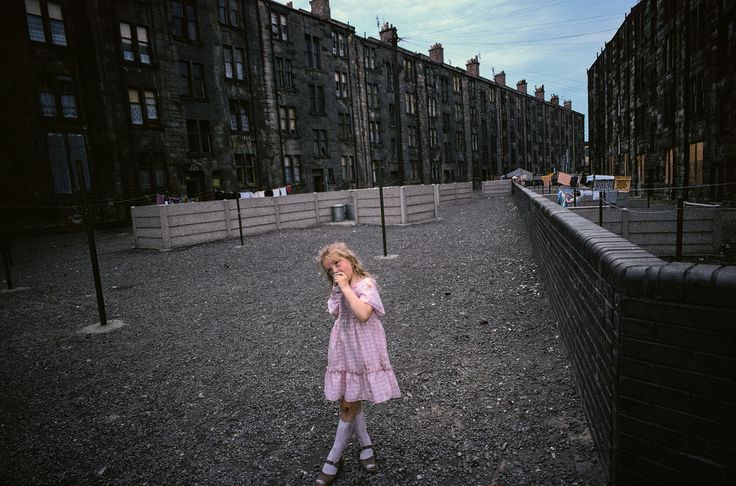 Raymond Depardon. SCOTLAND. Glasgow. 1980