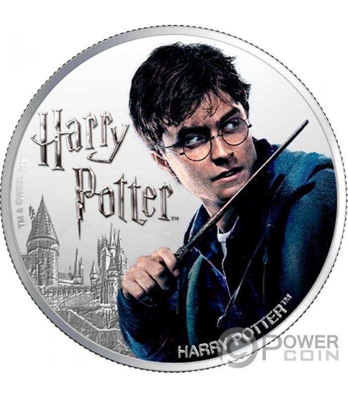 Harry Potter Wizarding World 1 Oz Silver Coin 1 Fiji 2020 In 2020 Silver Coins Harry Potter Wizarding World