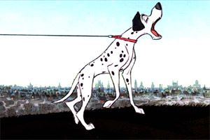 101 Dalmatians:  What is the name of the dog gossip chain used by Pongo & Perdy to spread the news of their missing puppies?  It was called the Twilight Bark.