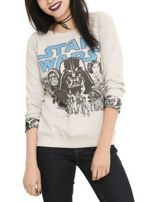 Star Wars Classic Reversible Girls Pullover Top