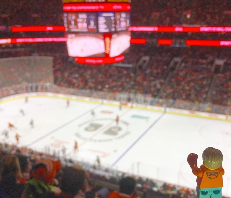 Lets see a fight! Brought my boxing gloves to this hockey game just in case my team needs me to sub in. .. #knucklepuck #whatthepuck #fightcity #icetomeetyou #orangeandblack #philly #flyers #hockey #hockeygram #visitphilly #livephilly #minifig_bigworld #lego #legominifigure #minifigure #travel #legotravel #toyslagram #legophotography #legoart #toyartistry_lego #brickingjoy #toyphotography #bricknetwork #bricklink #bricksinfocus #instalego