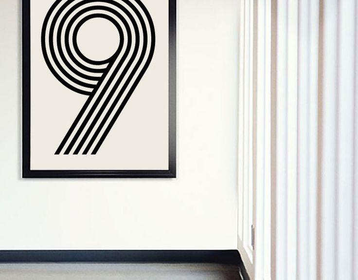 Lækker #plakat fra vores serie af talplakakter, check dem ud på www.byplayart.dk #poster #design #bolig #art #inspiration #boligdesign #wallart