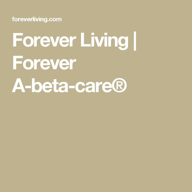 Forever Living | Forever A-beta-care®