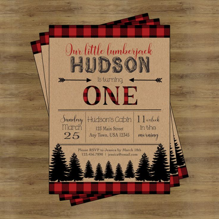 invitation words forst birthday party%0A Lumberjack First Birthday Invitation Boy  Lumberjack Party by  SophisticatedSwan on Etsy