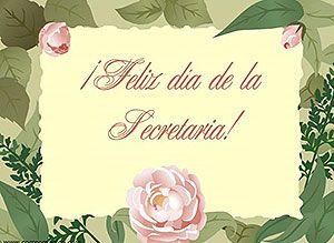 Tarjetas animadas, postales para desear Feliz Día de la Secretaria ...