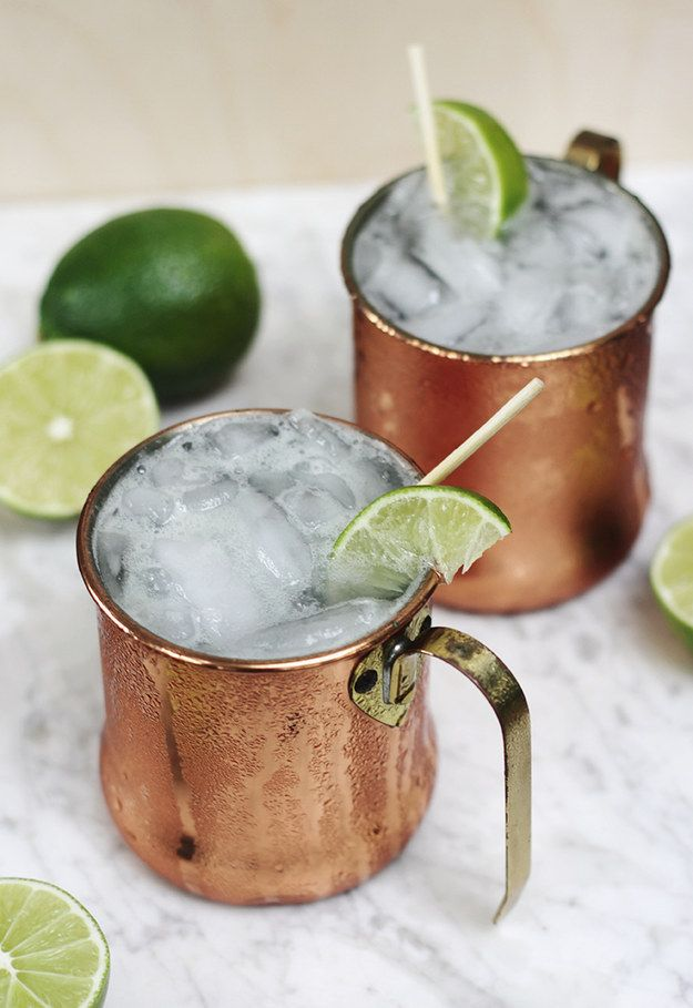 Moscow Mule Mocktail | 23 Delicious Non-Alcoholic Cocktails To Drink Instead Of Booze