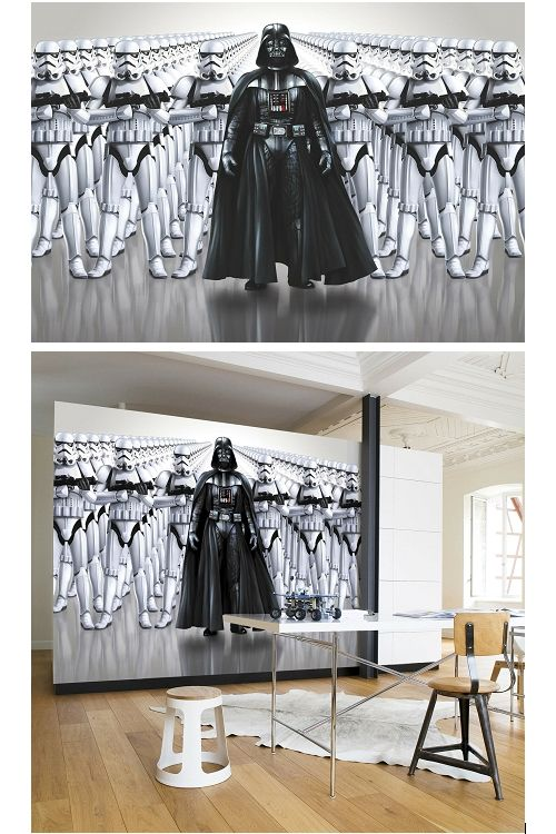 Giant Wallpaper Star Wars Imperial Force Bedroom Wall Mural. WallPaper/Wall Mural Ideas For
