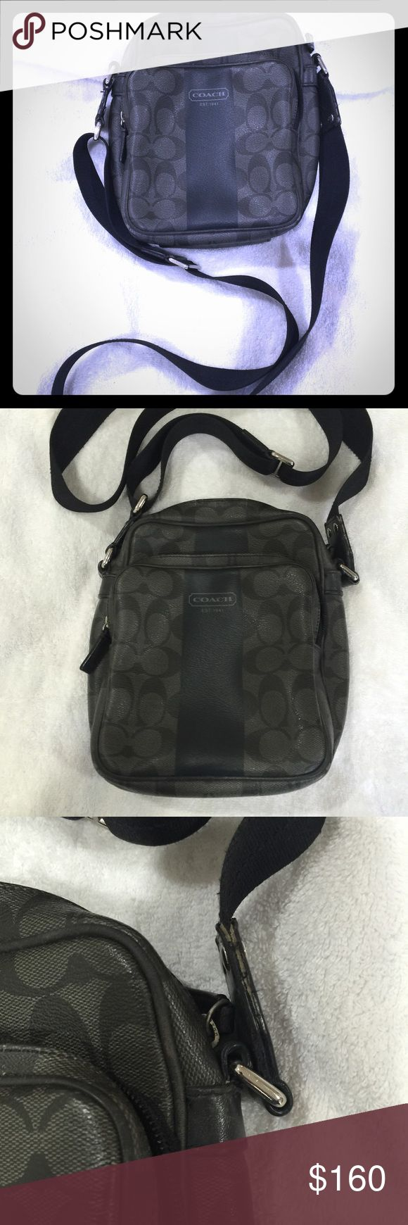 Coach messenger bag Coach messenger bag Coach Bags Travel Bags