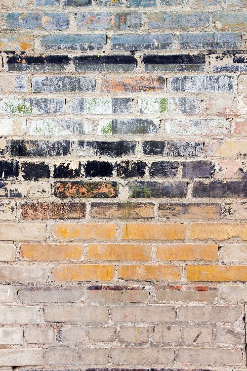 'find something old and faded' faded bricks, cracked paint, faded cracked paving, walls etc