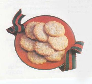 Lemon Oat Lacies Holiday Baking Favorites from Quaker Oats ...