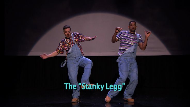 """""""Evolution of Hip-Hop Dancing"""" (w/ Jimmy Fallon & Will Smith) 