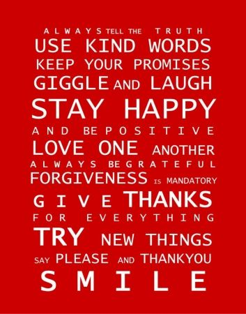 Christmas in #HTFStyle Family rules print - Image 9