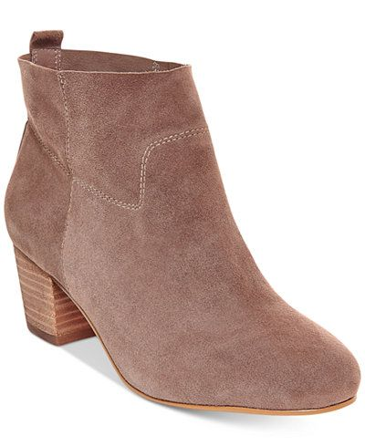 Steve Madden Women's Harber Block-Heel Booties