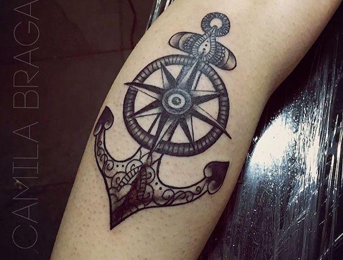 22+ Tatouage ancre marine homme inspirations