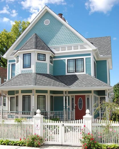Top 25 ideas about modern victorian houses on pinterest Victorian cottage plans