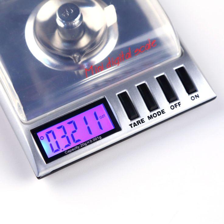 Weight balance Scales 20g x 0.001g Mini LCD balanza Digital Pocket Jewelry joyeria Gold Diamond weighing Scale Gram electronic #Affiliate