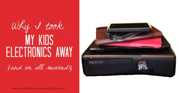 My boys were stuck in an electronic coma. Find out Why I Took My Kids Electronics Away and how I gained back their sweet personalities!