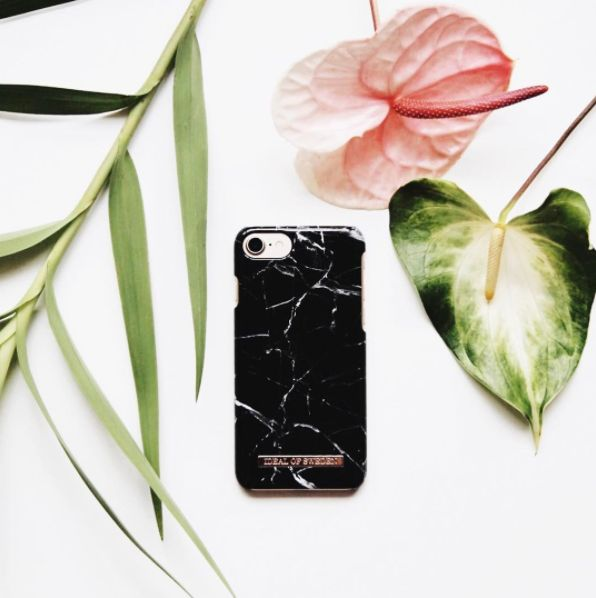 Black Marble by lovely @katherine_lou - Fashion case phone cases iphone inspiration iDeal of Sweden #marble #gold #fashion #inspo #iphone #marmor