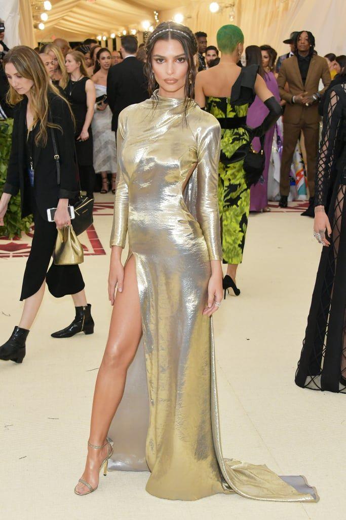Emily Ratajkowski Met Gala Outfits Met Gala 2018 Red Carpet Dresses Gowns