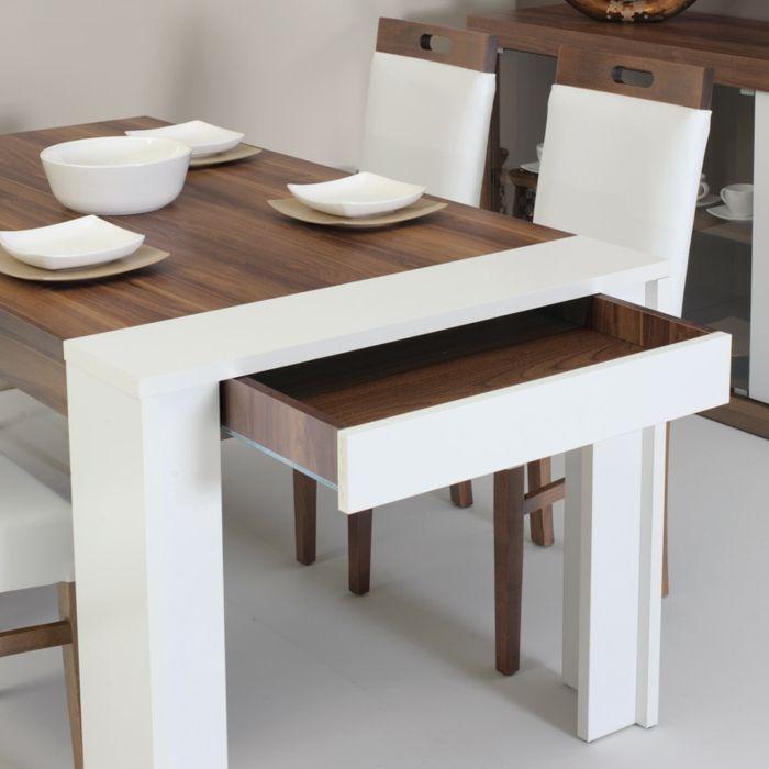 Superb Petite Table De Cuisine #5: La Table De Cuisine Pliante - 50 Idées Pour Sauver Du0027espace - Archzine.fr