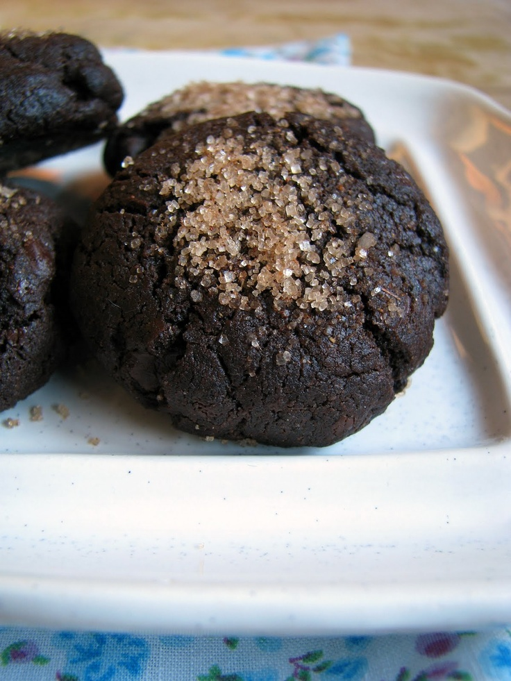 my darling lemon thyme: gluten-free vegan double chocolate cinnamon cookie recipe