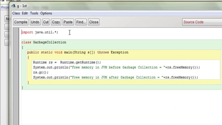 Java program to perform garbage collection for free memory