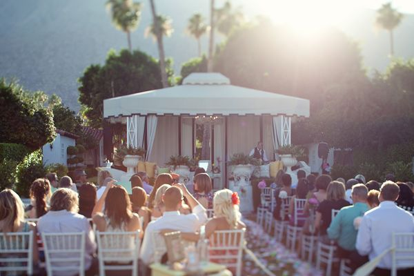 Fresh Palm Springs Wedding
