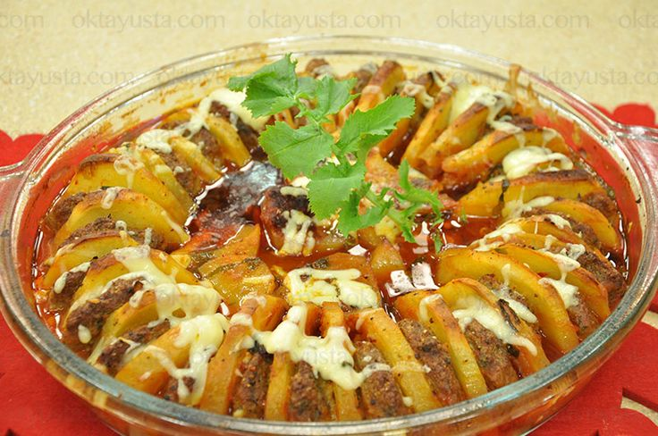Patatesli Fırın Köfte