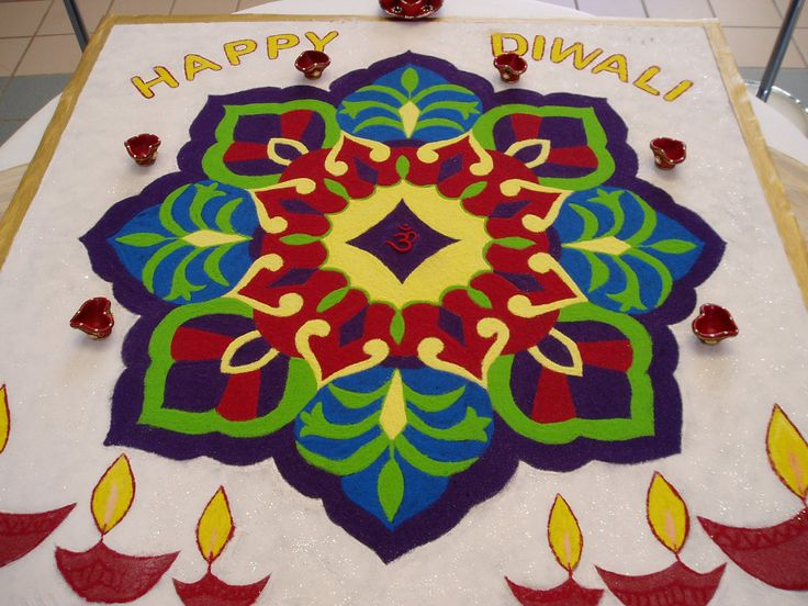 rangoli designs 13 Rangoli Designs with Dots With Flowers Rangoli Patterns