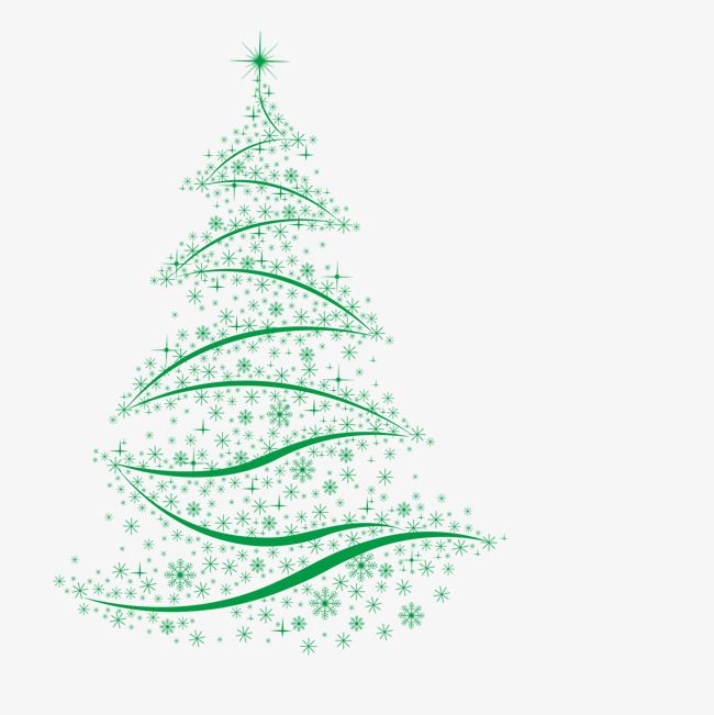 Green Christmas Tree Christmas Decorate Elk Png And