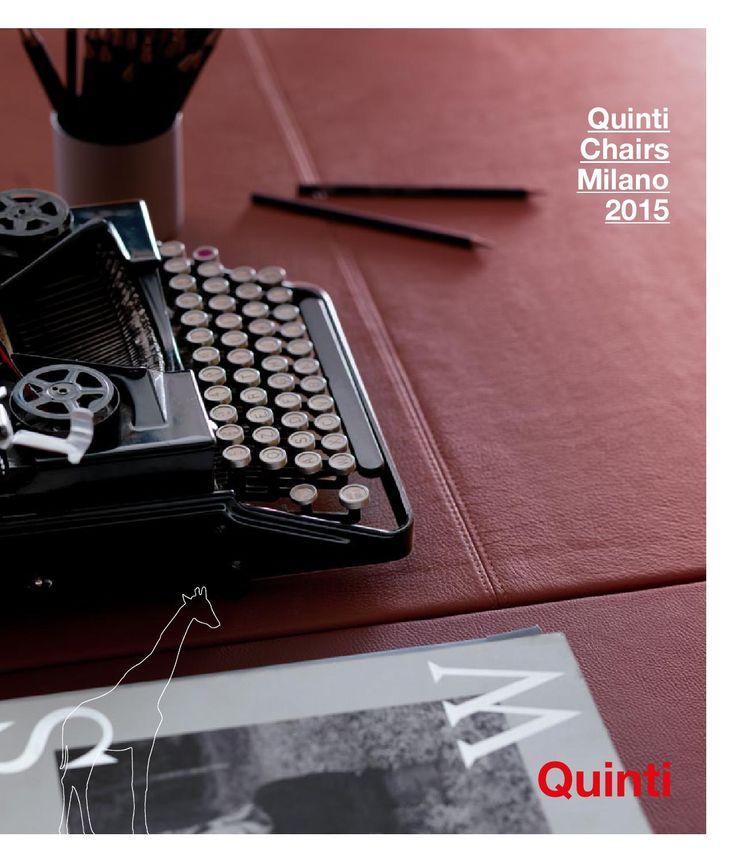Quinti - Milano 2015 catalogo  Итальянская офисная мебель Quinti