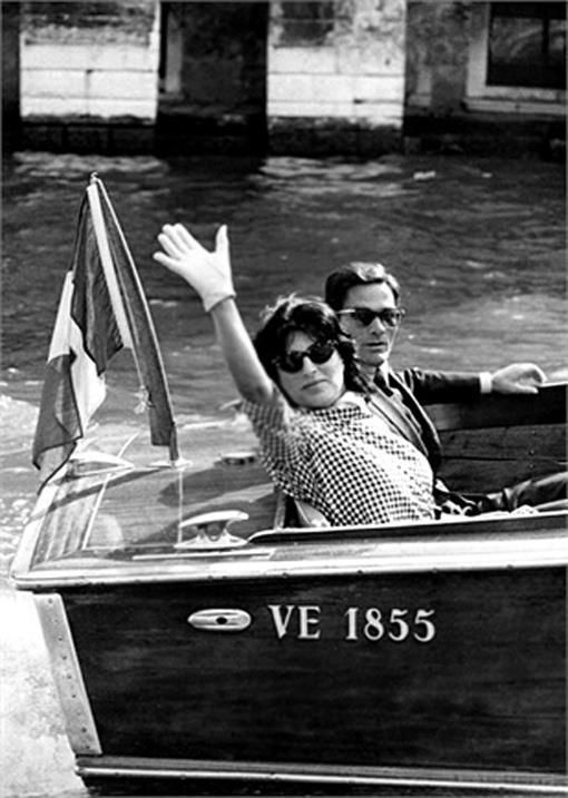 Anna Magnani, Pier Paolo Pasolini- Towards the Venice Film Festival... (1962)