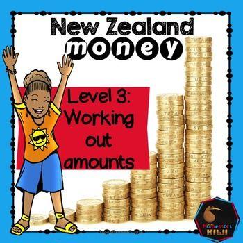 New Zealand Money - Level 3 Place value addition