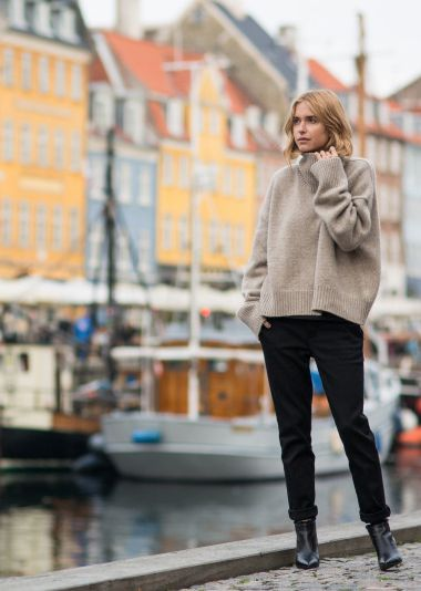 SHE WEARS THE PANTS | COPENHAGEN. #TheSkinnyPant with Look de Pernille. Photographed by @OnAbbotKinney. #JBRAND