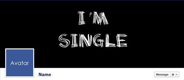 Free Facebook Timeline Cover Photos - Quality-Cover.com: I'm Single Funny Facebook Cover