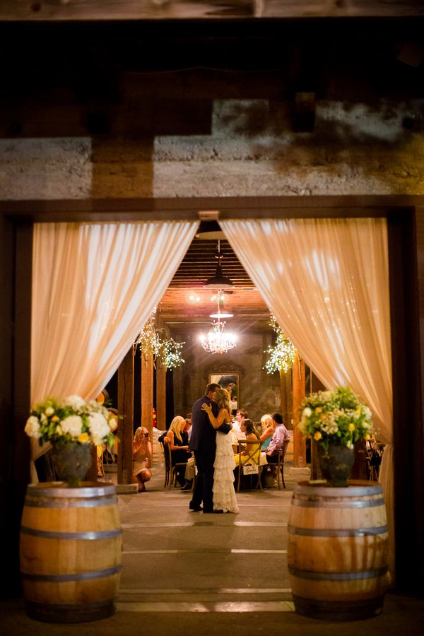 California Country Chic Wedding - photo by BrittRene Photo http://ruffledblog.com/murrietas-well-wedding