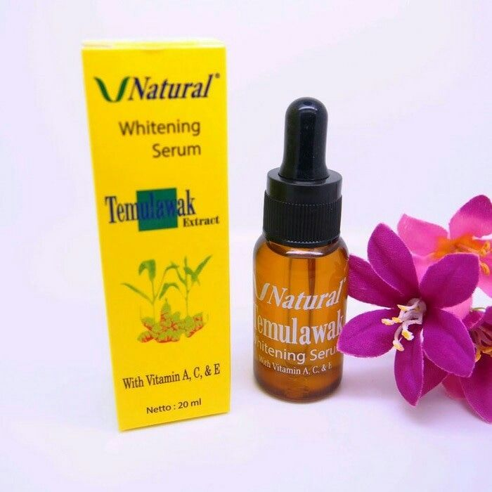 Serum Temulawak V Natural Whitening