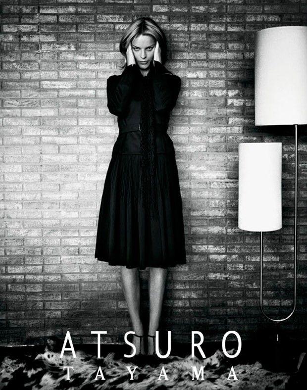 Eva Herzigova for Atsuro Tayama Fall Winter 2015.16