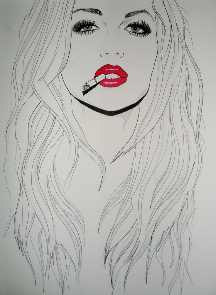 Art smoking art