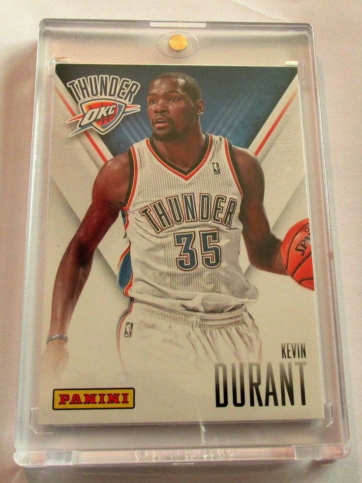 KEVIN DURANT 2014 PANINI FATHERS-DAY #GoldenStateWarriors