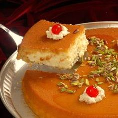 Cheese Kanafeh Lebanese dessert