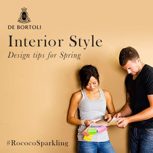 De Bortoli Wines: It's all about the décor, darling! Create a stylish space to sip your #RococoSparkling, with our interior design ideas for spring.