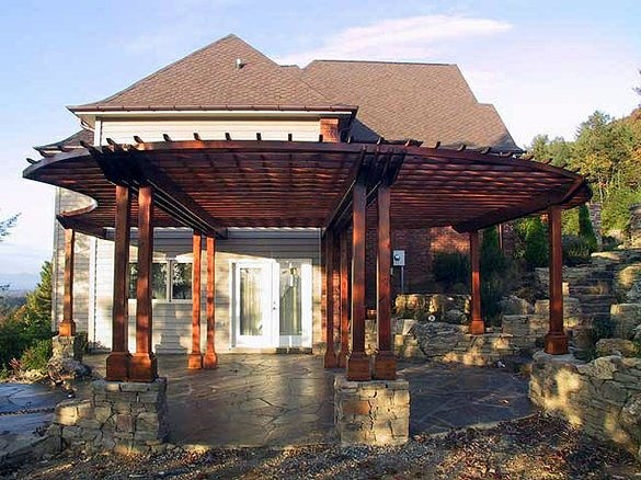Awesome Pergola : Dream Home and Decorations : Pinterest