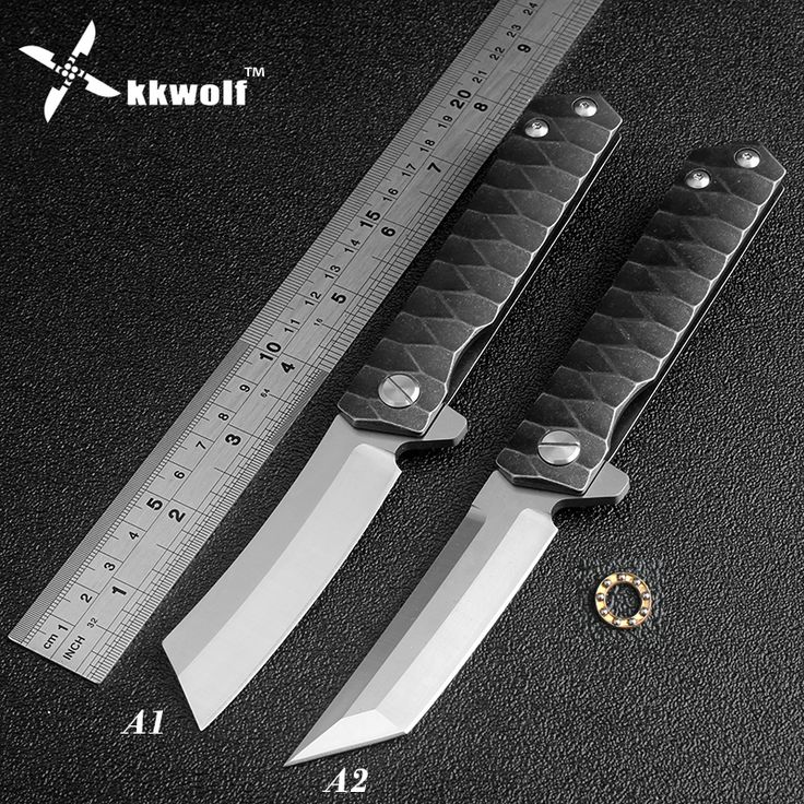 High quality tactical folding knife D2 blade ball bearing washer outdoor camping hunting pocket knife sharp razor portable EDC(China (Mainland))