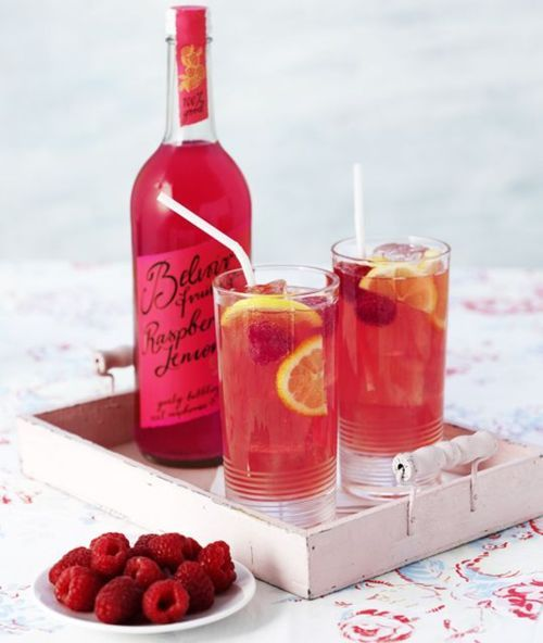Raspberry lemonade.