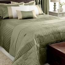 Green Athens Bedspread