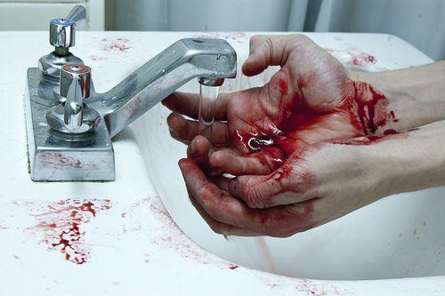 Hande waschen nach der arbeit