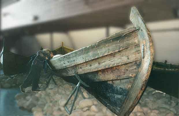 sewn boat reconstruction