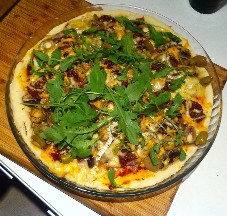 bezglutenowa, wege pizza