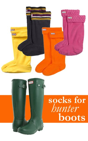 Perfect Socks for Hunter Boots